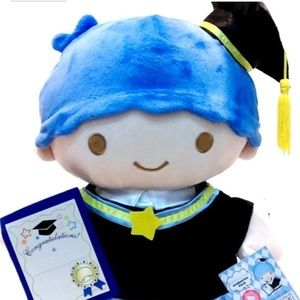 Little Twin Stars Graduation Plush Kiki